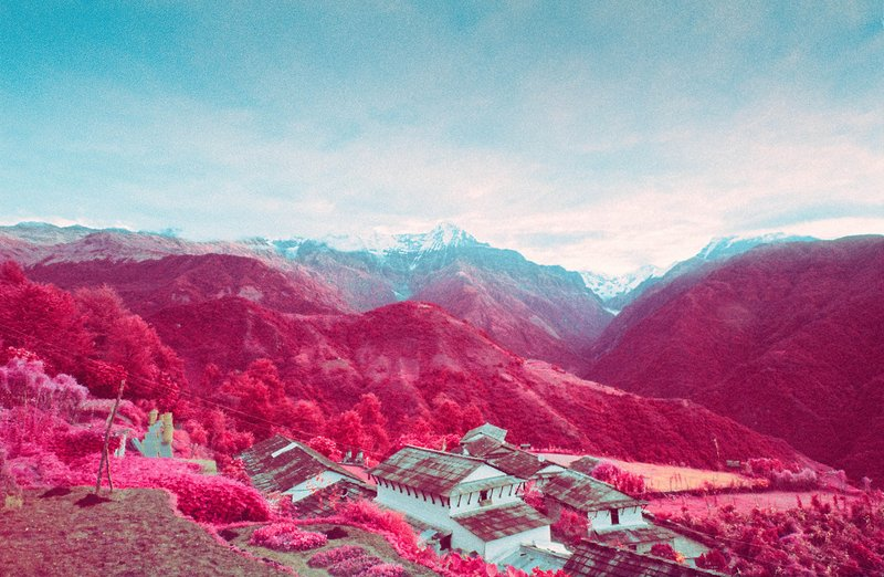 infrared-photographs-of-Annapurna-Himalayan-Range-by-sean-lynch-5
